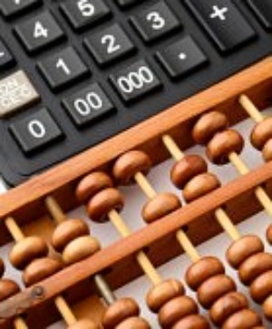 Abacus and digital