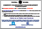 Police Info Flyer Image
