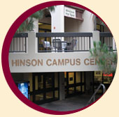 Hinson Campus Center Lower Level entrance