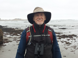 Gordon Smith, docent naturalist (volunteer) at Ano Nuevo State Park