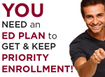 You Need an Ed Plan to Get and Keep Priority Enrollment