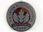 LEED Platinum 2008 U.S. Green Building Council Emblem