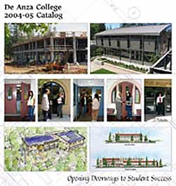 Cover of the De Anza College 2004-05 Catalog