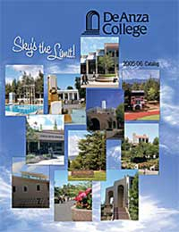 Cover of the De Anza College 2005-2006 Catalog