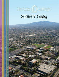 Cover of the De Anza College 2006-2007 Catalog