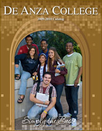 Cover of the De Anza College 2009-2010 Catalog