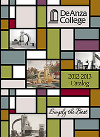 Cover of the De Anza College 2012-2013 Catalog
