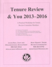 Tenure Review and You for Committee Members